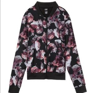 Victoria's Secret Sport Floral Bomber Jacket XS